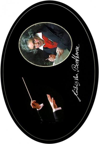 """Magnet mit Flaschenöffnerfunktion - Dekor """"Beethoven"""""""