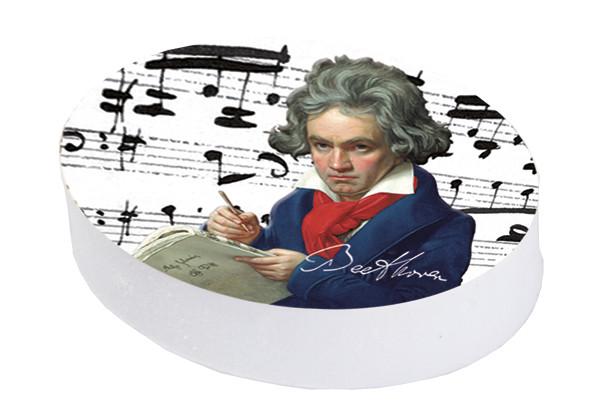 """Radierer mit Dekor """"Beethoven"""""""