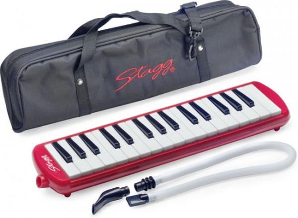 Stagg Melodica Melosta 32 - rot
