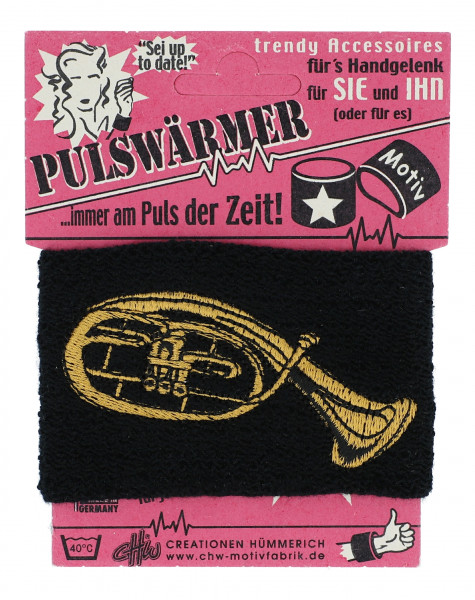 """Pulswärmer """"Tenorhorn"""""""