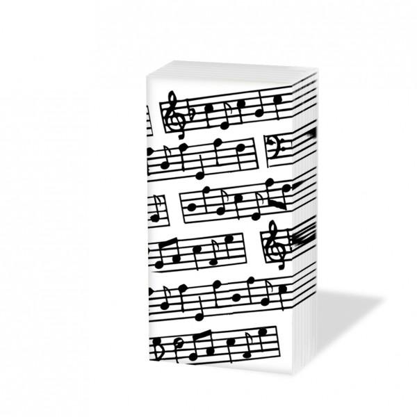 "Papiertaschentücher ""Musik"""
