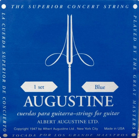 Augustine Blue D4 - Saite Konzertgitarre