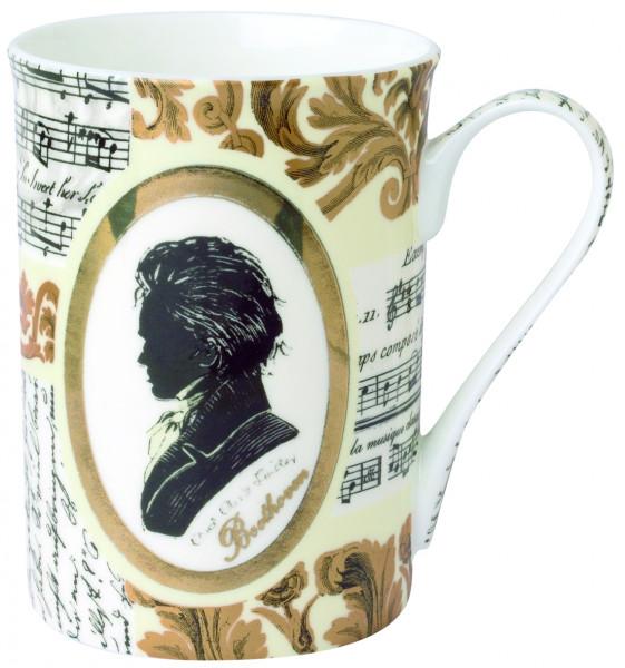 "Porzellanbecher ""L. v. Beethoven"""