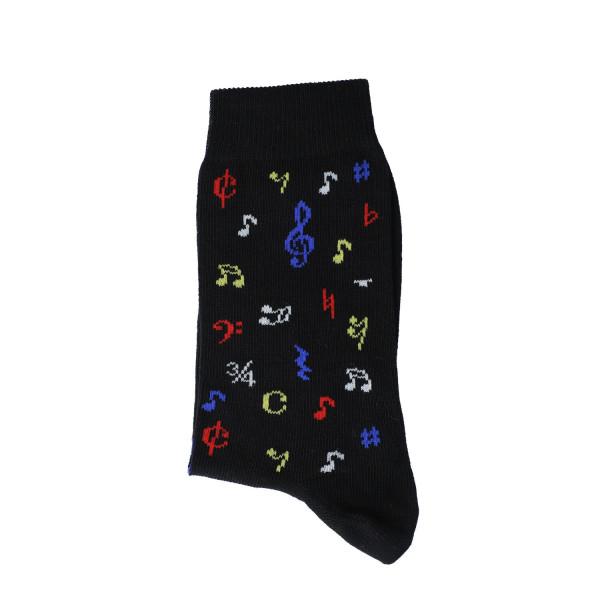 """Musiker-Socken """"Noten bunt"""" - kleine Größen"""