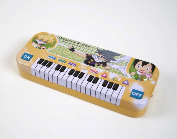 Stiftebox Keyboard - gelb