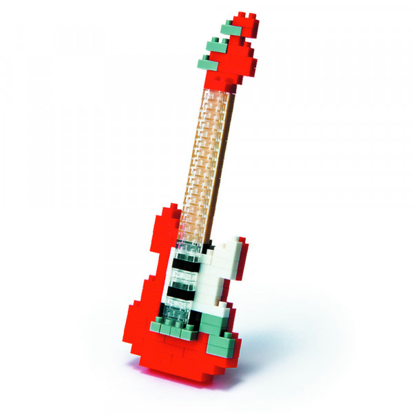 "NanoBlock Mini-Collection ""E-Gitarre rot"""