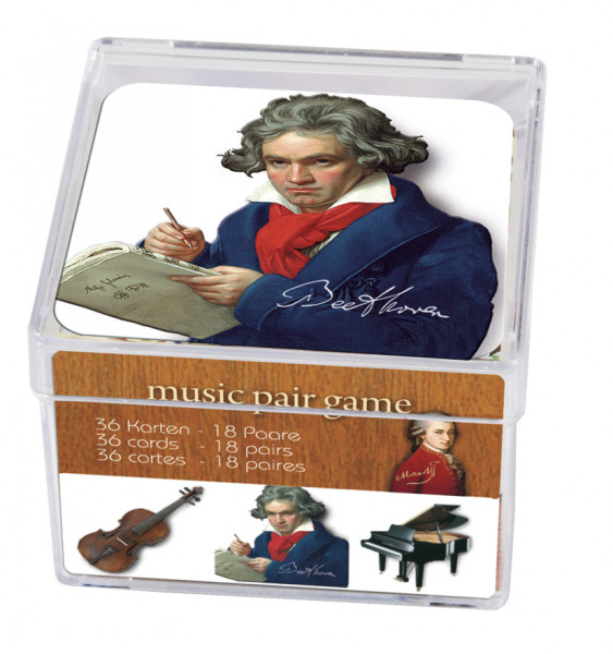"""Memo-Spiel """"Music"""""""