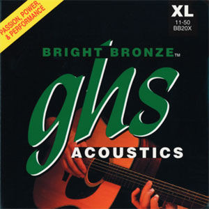 ghs BB20X Bright Bronze - Saiten Westerngitarre