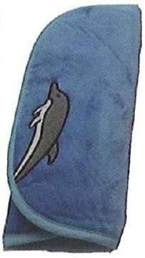 """Plüsch-Bag """"Delphin"""" für Sopranblockflöte"""