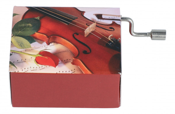 """Spieluhr Violine """"Happy Birthday to you"""""""