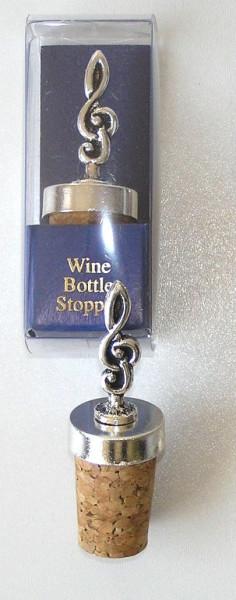 """Weinflaschenverschluss """"Notenschlüssel"""""""
