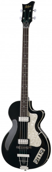 Höfner Club-Bass HCT-500/2-BK Contemporary Serie