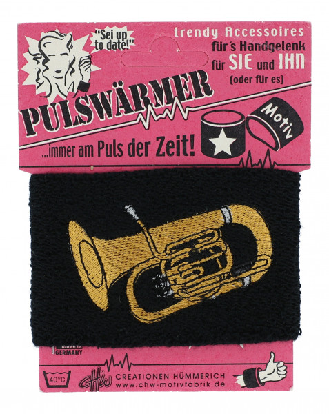 "Pulswärmer ""Tuba"""