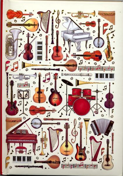 "Notizbuch ""Musica"" - A5"