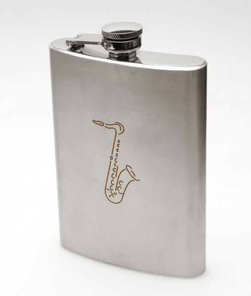"Flachmann ""Saxophon"""