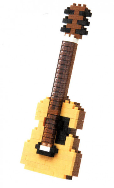 "NanoBlock Mini-Collection ""Akustik-Gitarre"""