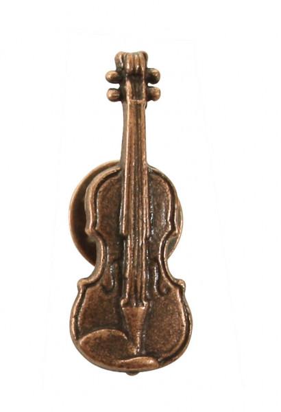 "Pin ""Violine"" Kupfer"