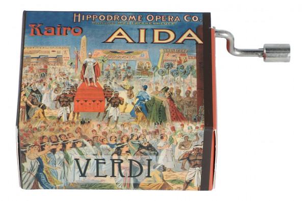 """Spieluhr """"Triumphmarsch"""" aus Aida"""