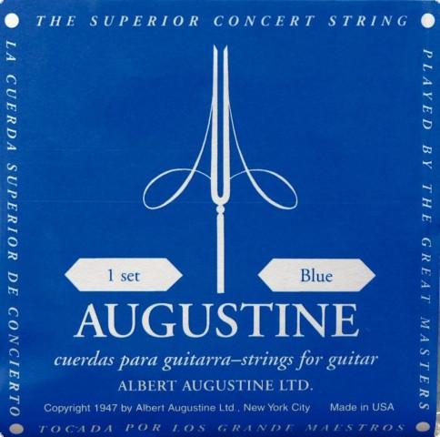 Augustine Blue E6 - Saite Konzertgitarre