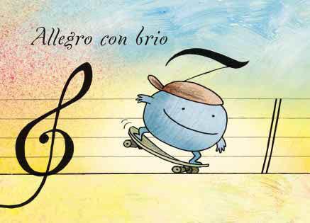 "Conbrio Karte ""Allegro con brio"""