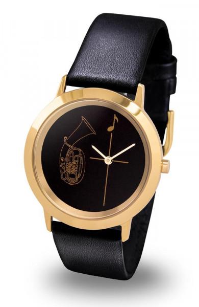 "Armbanduhr ""Tenorhorn"" - Gold Line"
