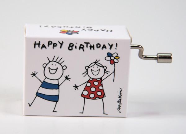 """Spieluhr Kinder """"Happy Birthday to you"""""""