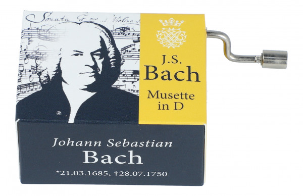 "Spieluhr J. S. Bach ""Musette in D"""