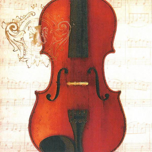 "Lunch Servietten ""Concerto Violino"""