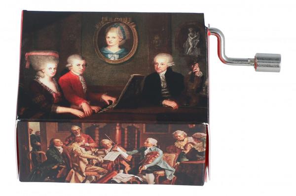 """Spieluhr Familie Mozart """"Wiegenlied"""""""