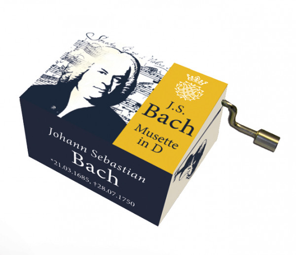 """Spieluhr J. S. Bach """"Musette in D"""""""