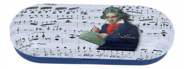 """Brillenetui mit Dekor """"Beethoven"""""""