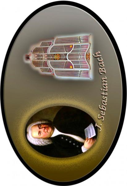 """Magnet mit Flaschenöffnerfunktion - Dekor """"Bach"""""""
