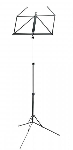 K&M Notenpult 101 schwarz - mit Tragetasche
