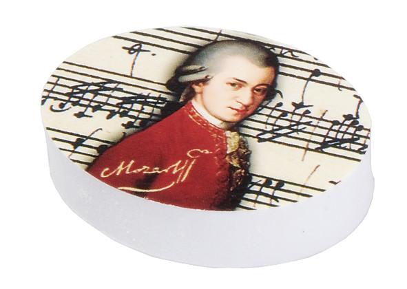 """Radierer mit Dekor """"Mozart"""""""