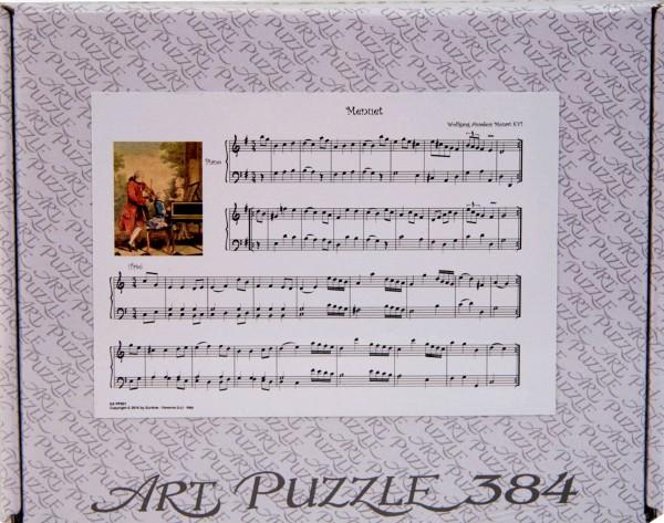 """Puzzle """"Menuett"""" v. W. A. Mozart"""