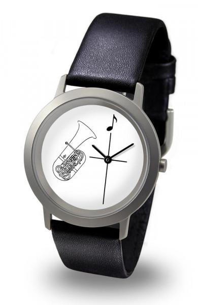 """Armbanduhr """"Tuba"""" - Palladium Line"""