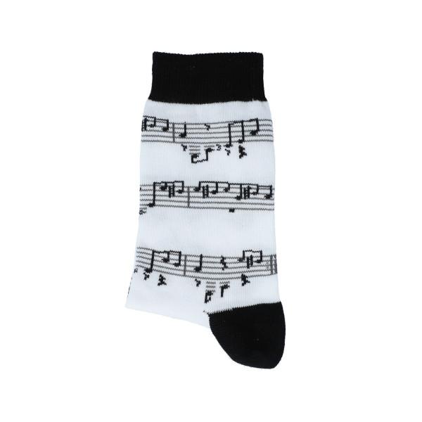 "Musiker-Socken ""Noten schwarz"""