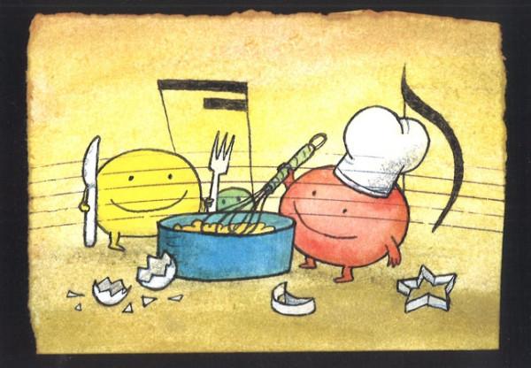 """Conbrio Karte """"Bäckerei"""""""