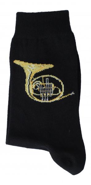 """Musiker-Socken """"Horn"""""""