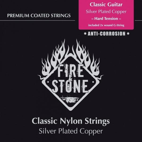 Fire & Stone Classic Set - Saiten Konzertgitarre