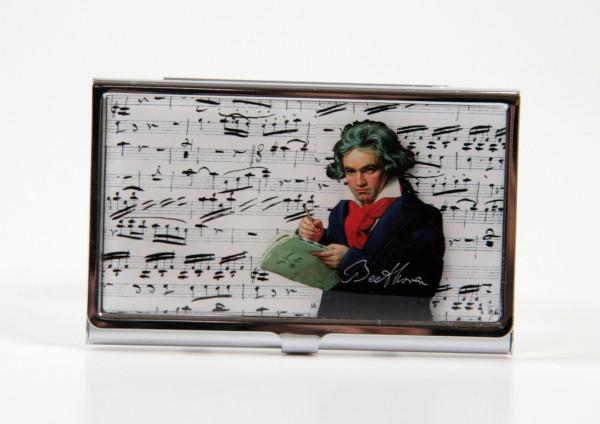 Visitenkartenetui Beethoven