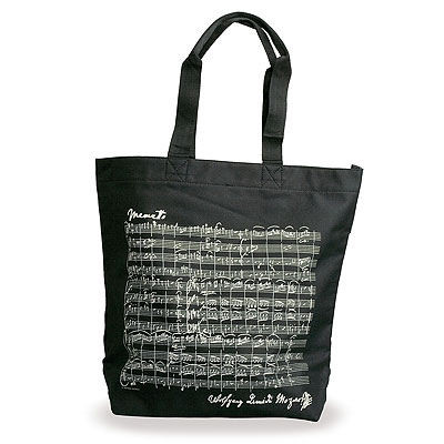 "Shopper ""Mozart"" - schwarz"
