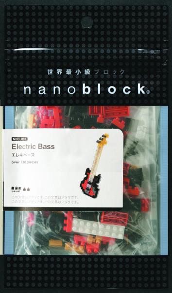 """NanoBlock Mini-Collection """"E-Bass"""""""
