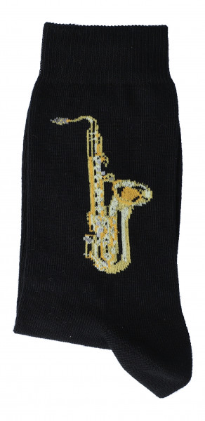 "Musiker-Socken ""Saxophon"""