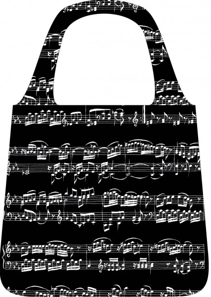 "Shopping-Bag ""Noten"""