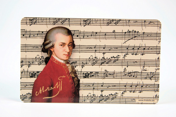 """Frühstücksbrettchen """";Mozart"""""""