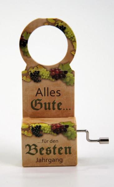 """""""Flaschen-Musik""""-Spieluhr"""