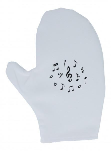 "Mikrofaser-Handschuh ""Notenmix"""