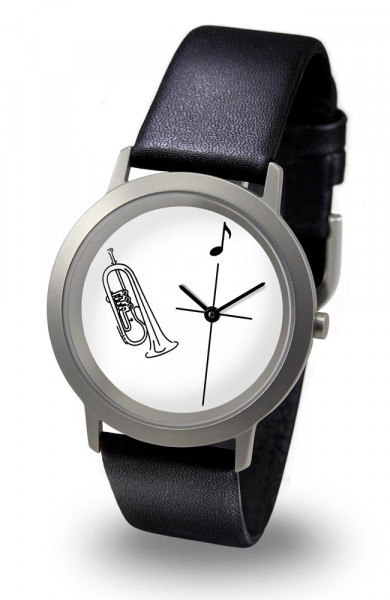 "Armbanduhr ""Flügelhorn"" - Palladium Line"