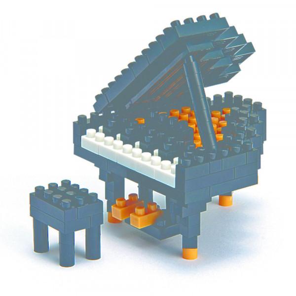 """NanoBlock Mini-Collection """"Grand Piano schwarz"""""""